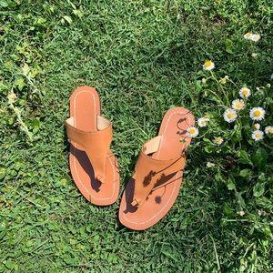 J Crew leather sandal